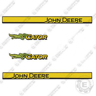 John Deere Gator Decals Utility Vehicle Decal Set