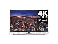 **CURVED** 48in Samsung 4k uhd SMART TV -1200PQI- wifi- voice ctrl- Freeview/SAT HD -warranty