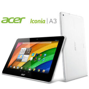 """New Open Box Acer Iconia A3 16GB 10.1"""" Quad-Core Tablet Android"""