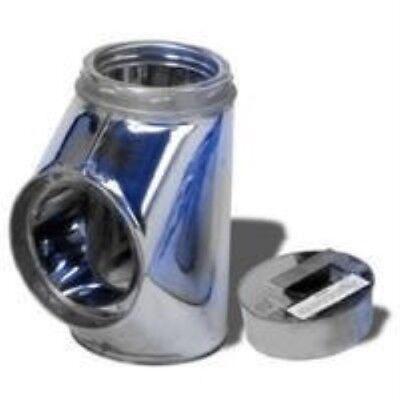 Selkirk Metalbestos 6T-IT Insulated Tee with Plug -