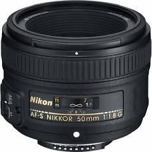 Nikon AF-S NIKKOR 50MM F/1.8G <Near Mint Condition> Hobart CBD Hobart City Preview