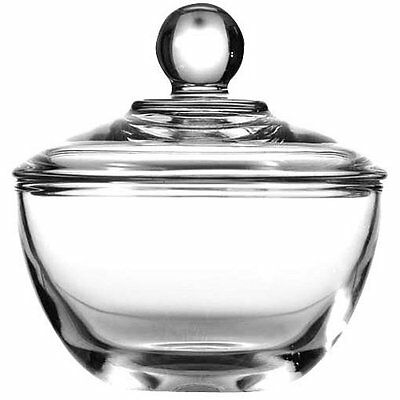 Anchor Hocking Presence Glass Sugar Bowl with Lid, 8 Ounce