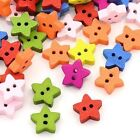 Star Sewing Buttons