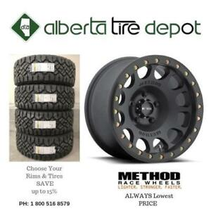 SAVE Up To 10% Lowest Price Method Wheels 105 Beadlock Matte Black Rims Shipping Available Shop With Confidence