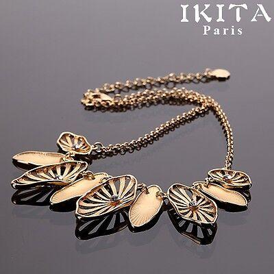 Luxus Statement Kette IKITA Paris Halskette Collier Kollier Metall