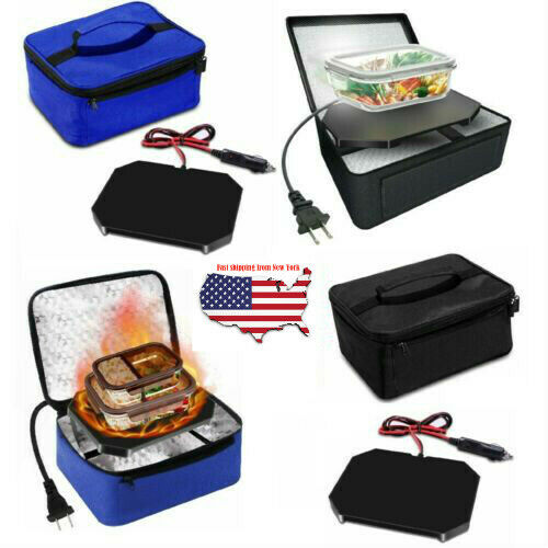 Portable Food Warmers Electric Heater Lunch Box Mini Oven Mi