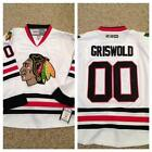 Chicago Blackhawks Jersey Griswold