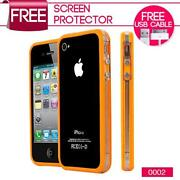 iPhone 4 Bumper Case Orange
