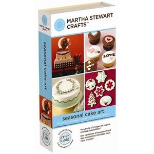 Martha Stewart SEASONAL CAKE ART Cricut Cartridge - $45