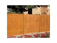 Fencing panels and fencing posts