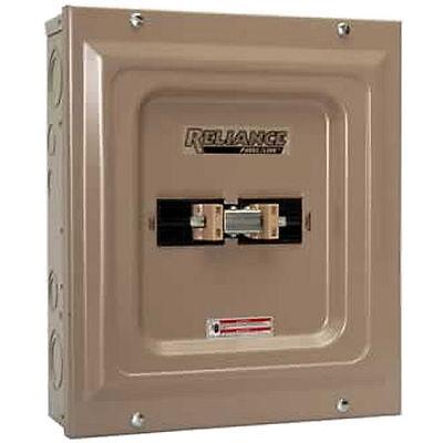 Indoor Transfer Panel - Reliance Controls  60-Amp Indoor Transfer Panel