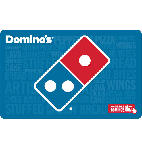 Купить Domino's - Domino's Pizza Gift Card - $25 $50 or $100 - email delivery