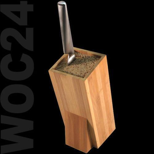 messerblock bambus ebay. Black Bedroom Furniture Sets. Home Design Ideas