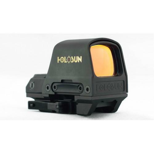 Holosun HS510C Multi-Reticle Reflex Sight - Solar Power - 50K Battery Life