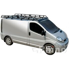 Rhino Aluminium roof rack for Renault Traffic 2014 >