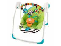 Bright starts baby swing/bouncer LIKE NEW