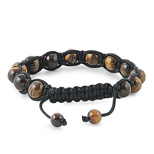 Mens Shamballa Bead Bracelet
