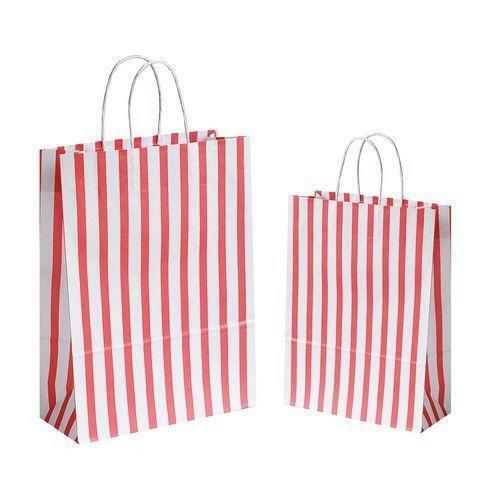 paper bags with handles ebay