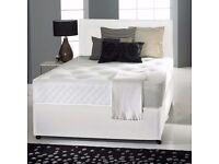 BR KING SIZE DIVAN SUPER ORTHOPEDIC BED !! BED BASE + SUPER ORTHOPEDIC MATTRESS