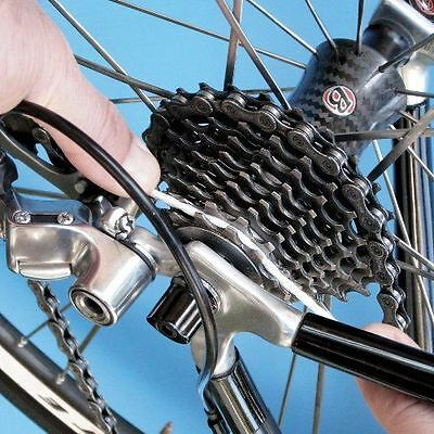 Finish Line Gear Floss Cleaner 20 Count Microfiber Ropes Cassette Gears Bike