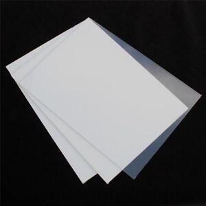 Clear Perspex Sheet Plastics Equipment Amp Materials Ebay