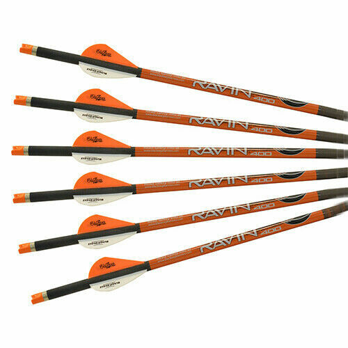 Ravin Crossbows .003 Premium 20 Arrows Bolts 6-Pack Orange Nocks R138