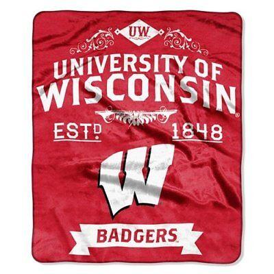 Wisconsin Blanket - Wisconsin Badgers Label Design 50