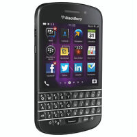 BlackBerry Q10 - 16GB - Black (Unlocked) Smartphone SQN100-1 M75