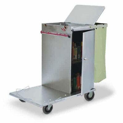 Royce Rolls C30 Stainless Steel Mini Non-folding Housekeeping Cart
