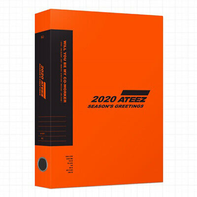 ATEEZ 2020 SEASON'S GREETINGS DVD+Calendar+Diary+Card+Poster+etc+Pre-Order+GIFT