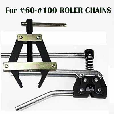Roller Chain Tools Kit 60 80 100 And More Chain Holderpuller Breakercutter