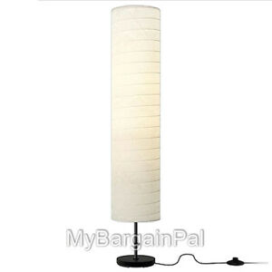 1 each brand new ikea holmo oriental rice paper floor lamp for Paper cylinder floor lamp