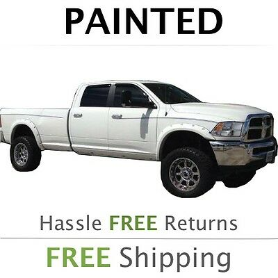 NEW Fits: 2014 2015 Dodge Ram 2500 Fender Flares Painted to Match - Pocket Style