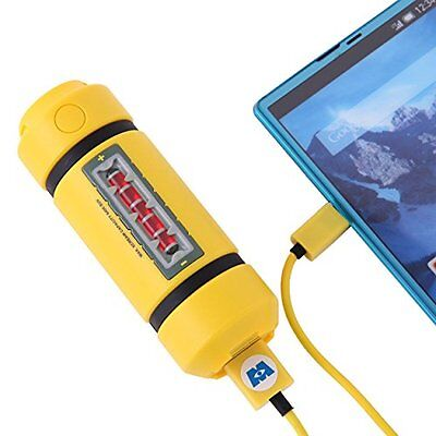 Disney Monsters Inc. energy tank stick mobile battery charger lightweight Japan