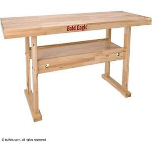 Be1003 Bald Eagle Reloading Bench Birch