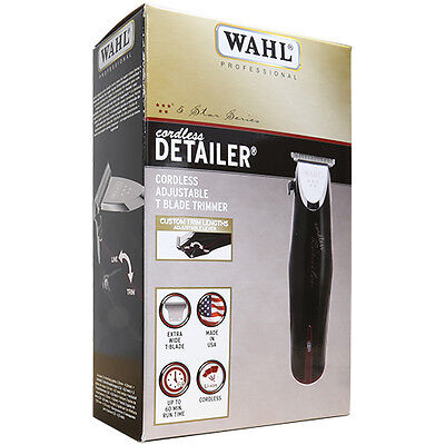 Wahl Professional 8163 5 Star Series Detailer Cordless Rotary Motor Trimmer