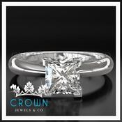 1ct Princess Cut Diamond Ring