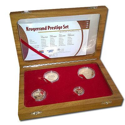 4 Im Rand (Krügerrand Prestige-Set 2016 - 4 Goldmünzen PP Polierte Platte im Original-Etui)