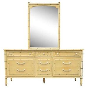 Faux Bamboo Dressers
