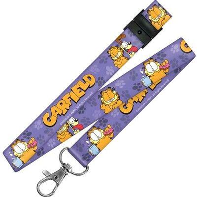 Garfield Odie Lanyard Classic Disney Breakaway ID Holder NWT