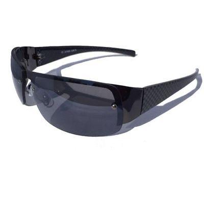 3 für 2 COOLE HERREN SONNENBRILLE SCHWARZ SPORT BIKER RACING RAUCH Sonnen Brille
