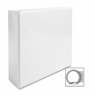 """Business Source Round Ring View Binder - Letter - 8.50"""" X 11"""