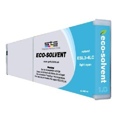 Roland Eco-sol Max 440ml Ink Lt. Cyan