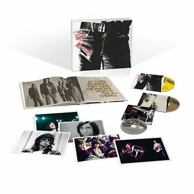 THE ROLLING STONES - STICKY FINGERS (LTD DELUXE BOXSET) 2CD+DVD REGION ALL
