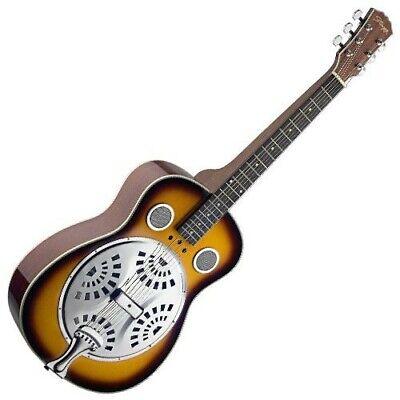 Stagg Model SR-607 SQ SB Square Neck Sunburst Finish Acoustic Resonator Guitar