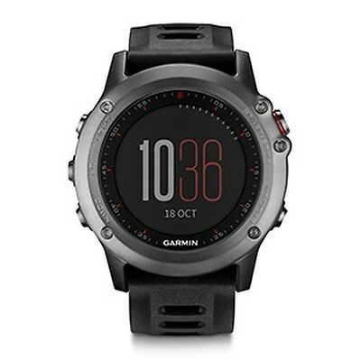 Garmin Fenix 3 Multi-Sport Training GPS/GLONASS Fitness Watch - Gray/Black