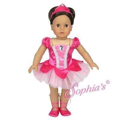 Fuchsia Classic Ballerina American Halloween Costume dress up fit 18