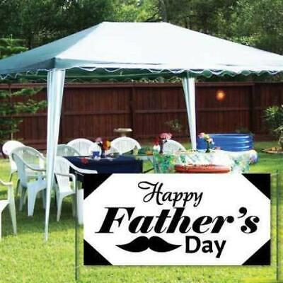 Happy Father's Day Banner - Waterproof Vinyl Banner