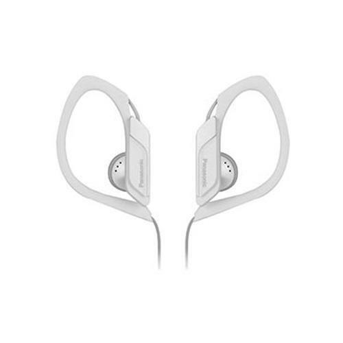 Panasonic RPHS3 Water and Sweat Resistant Headphones Jogging Outdoor Use - White