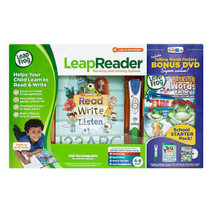 LeapReader Reading and Writing System w/Bonus Dvd Super Value